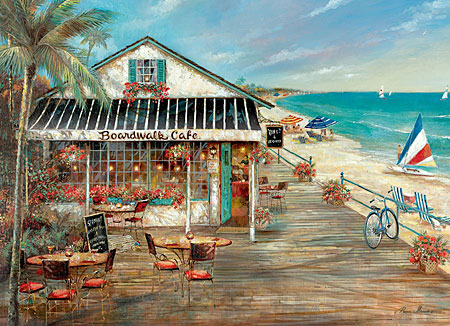 Puzzle Strandcaf�