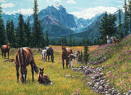 pferde-vor-dem-bergpanorama
