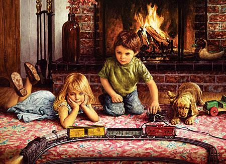 spielende-kinder-vor-dem-kamin