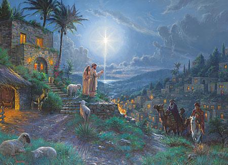 Ankunft der Apostel