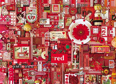 Regenbogenprojekt - Rot