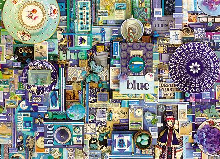 Regenbogenprojekt - Blau