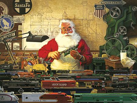 Santa und seine Züge