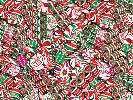 Viele Süßigkeiten