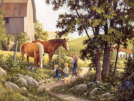 kinder-futtern-die-pferde