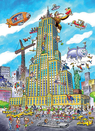 Puzzle DoodleTown: Empire State