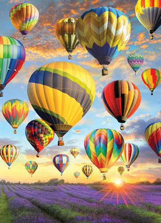 Aufstieg der Heißluftballons