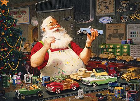 der-weihnachtsmann-malt-die-spielzeugautos-an