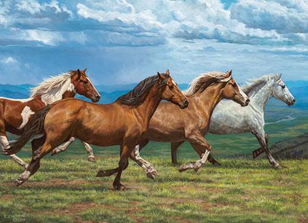 pferde-in-der-landschaft