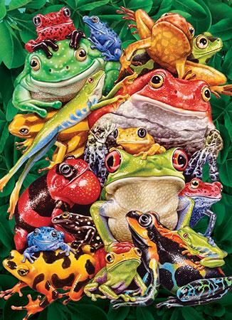 frosch-collage