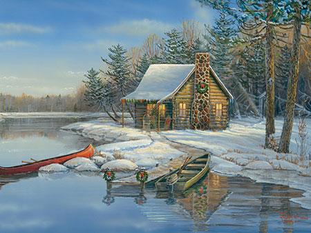 schneebedeckte-hutte-im-winter