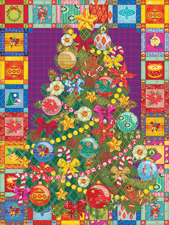Weihnachts Quilt