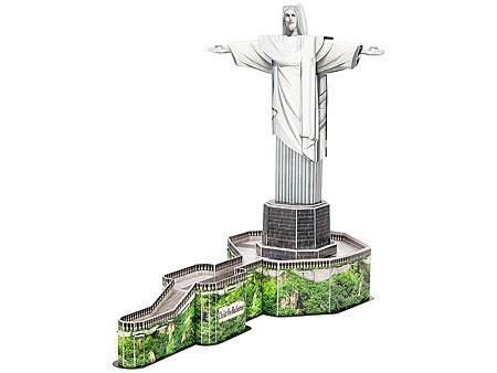 3D-Puzzle Christus-Statue in Rio