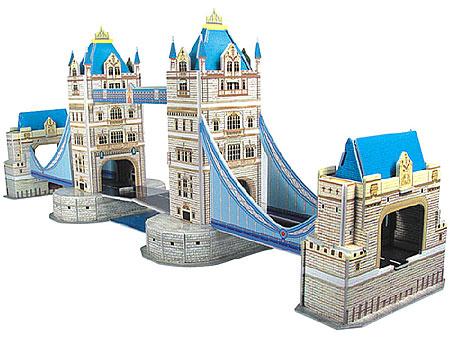3D-Puzzle Tower Bridge in London