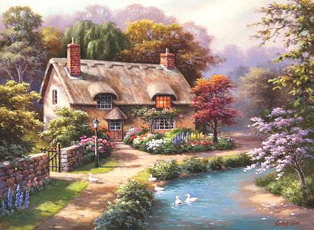 Landhaus am Fluss