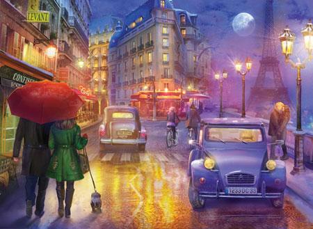 Paris im Laternenschein