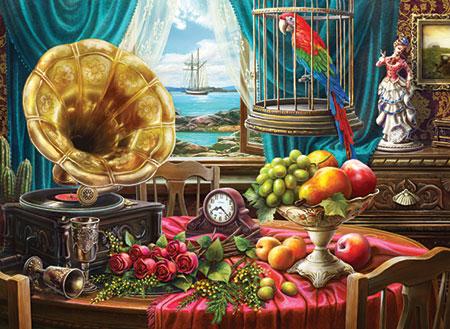 Stillleben mit Grammophon
