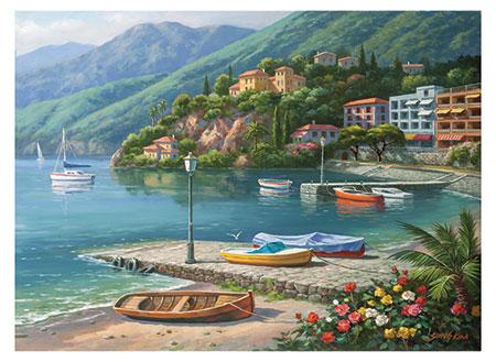Traumhafte Küstenstadt