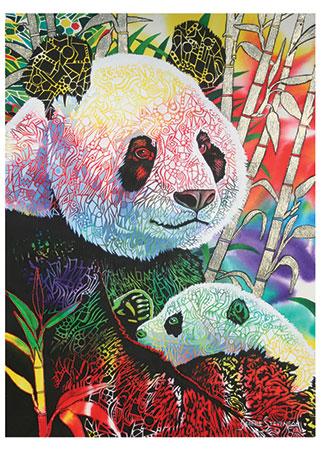 Süße Pandas