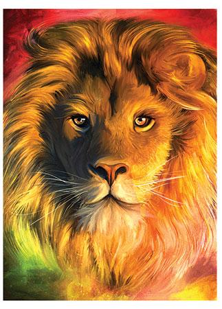 Der stolze Löwe