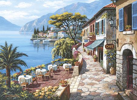 Cafe mit Ausblick