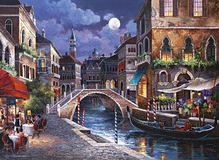 Straße von Venedig