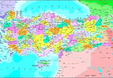 politische-karte-der-turkei