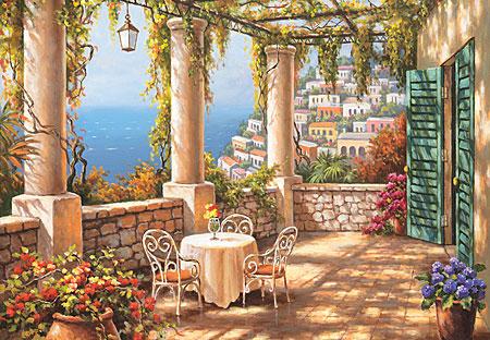 perre 3293 mediterrane terrasse. Black Bedroom Furniture Sets. Home Design Ideas