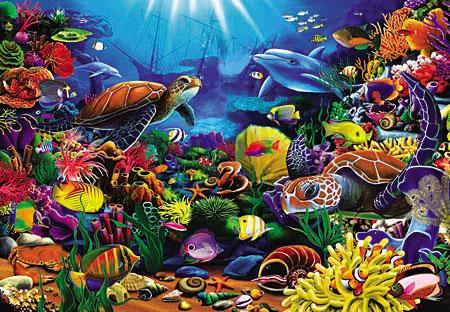 Tiere der Unterwasserwelt