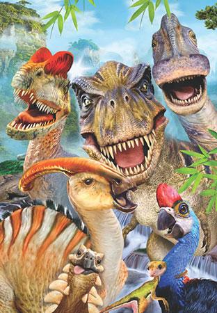 Dino-Selfie