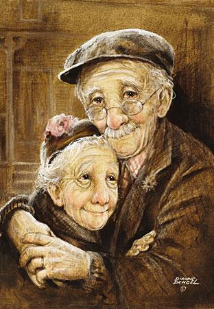 Photo von einem älteren Ehepaar