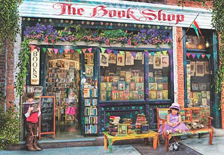 Der Bücherladen hat geöffnet