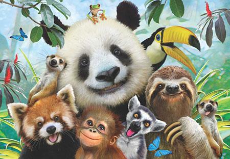 Zoo-Selfie