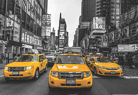 taxis-in-new-york