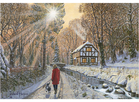 Märchenhafter Winterwald