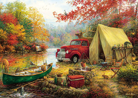 Zelten in der Wildnis
