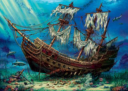 Versunkenes Schiff