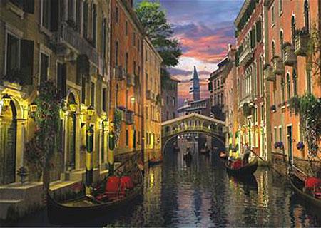 Venedig in der Abenddämmerung