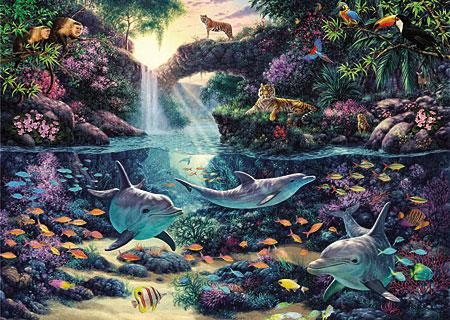 Tiere im Dschungelparadies