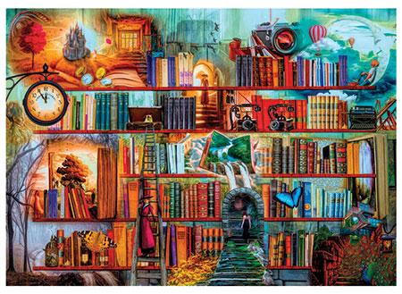 Geheimnisvolle Bibliothek