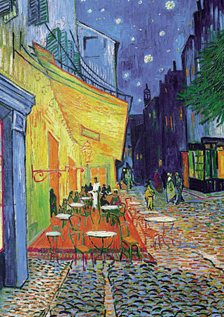 V.Gogh, Caféterrasse am Abend