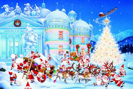 weihnachten-toy-factory, 12.39 EUR @ puzzle