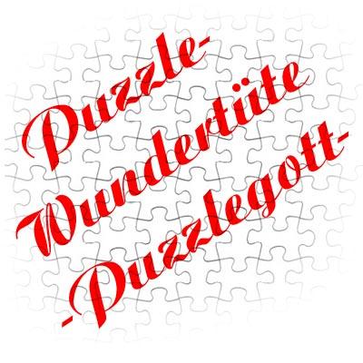 Puzzle-Wundertüte -Puzzlegott-