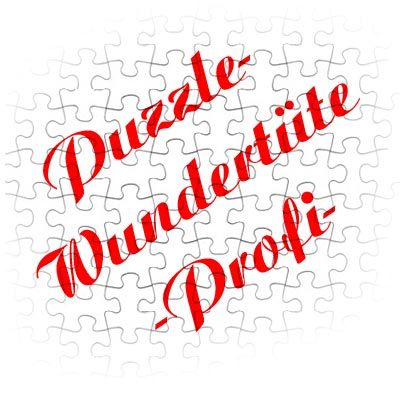 Puzzle-Wundertüte -Profi-