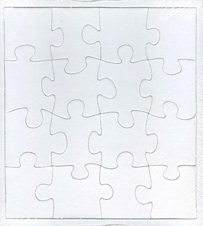 puzzleman 903061 blanko puzzle gro. Black Bedroom Furniture Sets. Home Design Ideas