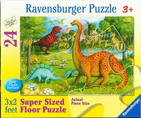 Bodenpuzzle - Dinosaurier