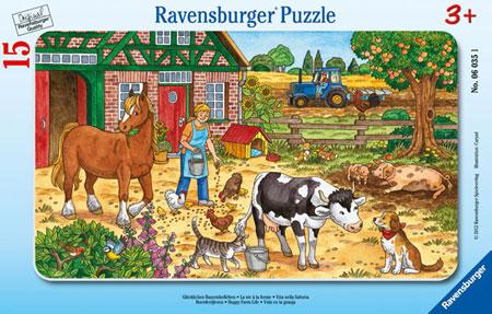 Glückliches Bauernhofleben