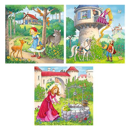Rapunzel, Rotkäppchen & Froschkönig