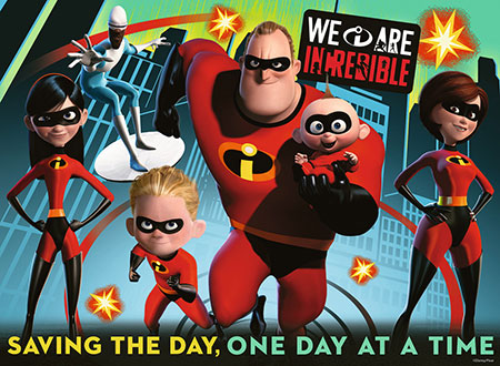 Incredibles 2 - Retten den Tag