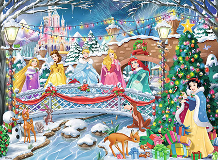 Die Prinzessinnen feiern Weihnachten